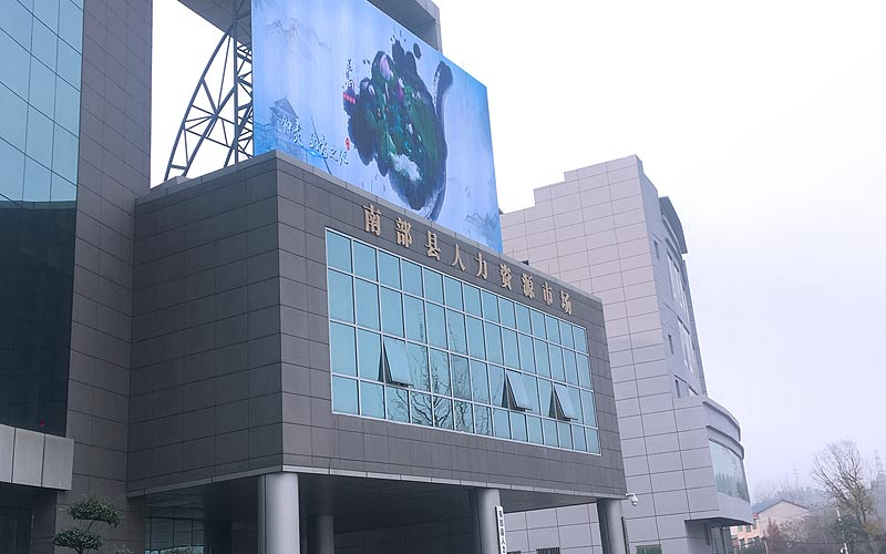 outdoor transparent led screen p10 @Szimore